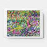 El jardín del iris en Giverny Claude Monet fresco, Sobre