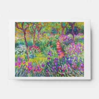 El jardín del iris en Giverny Claude Monet fresco,