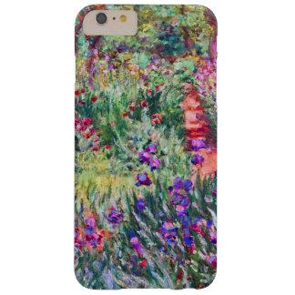 El jardín del iris en la bella arte de Giverny Funda Barely There iPhone 6 Plus