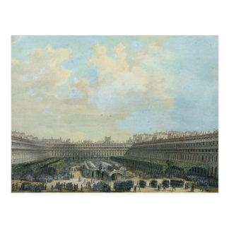 El jardín del Palais Royal, 1791 Postales
