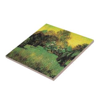 El jardín del poeta de Vincent van Gogh Teja