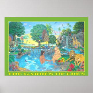 El jardín del poster de Eden