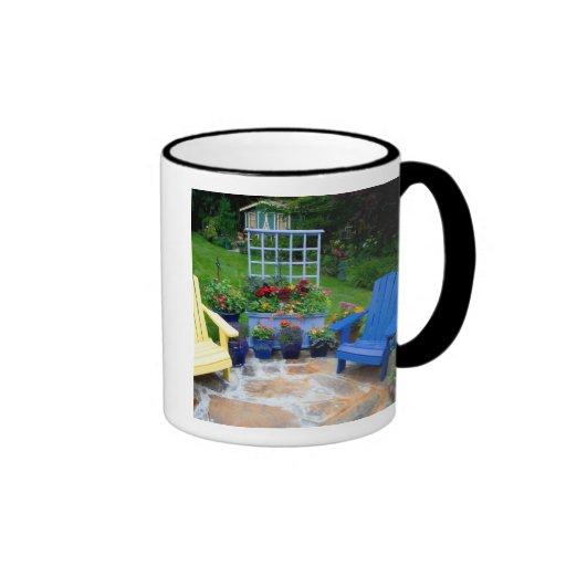 El jardín diseña en nuestro jardín Sammamish, 4 Tazas De Café