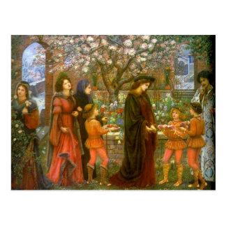 El jardín encantado de la postal de Messer Ansaldo
