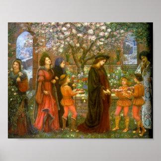 El jardín encantado de Messer Ansaldo, poster