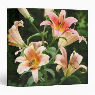 """El jardín floral de las flores florece fotografía carpeta 1 1/2"""""""