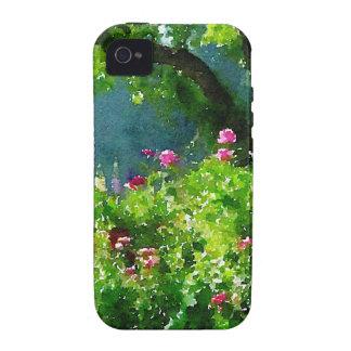El jardín iPhone 4/4S fundas