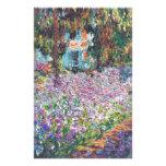 El jardín Giverny del artista Papeleria Personalizada