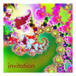 El jardín I de Emma · Arte del fractal · Goa Invitaciones Personales