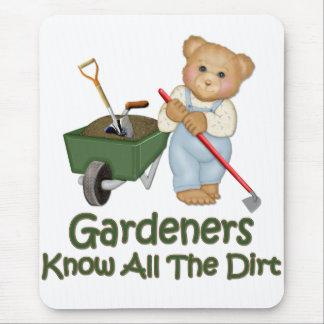 El jardín inclina 1 - sepa la suciedad alfombrilla de raton