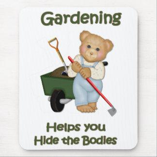 El jardín inclina #2 - cuerpos de la piel alfombrillas de raton