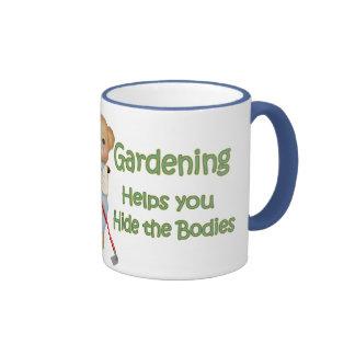 El jardín inclina #2 - cuerpos de la piel taza a dos colores