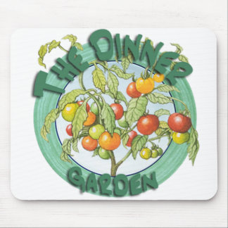 El jardín Mousepad de la cena