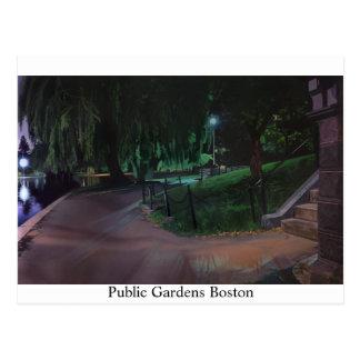 El jardín público de Boston Postales
