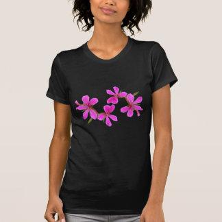 el jardín rosado bonito florece, la foto floral camisetas