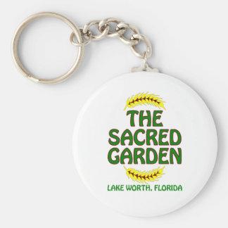 El jardín sagrado llavero