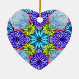 El jardín secreto de Sadie Adorno De Cerámica En Forma De Corazón