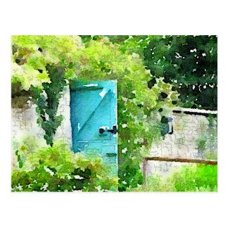 El jardín secreto postal