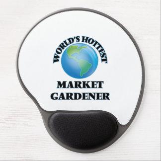 El jardinero del mercado más caliente del mundo alfombrillas de ratón con gel