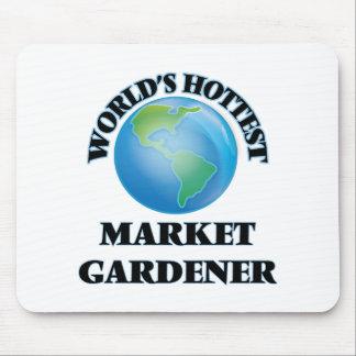 El jardinero del mercado más caliente del mundo tapete de raton