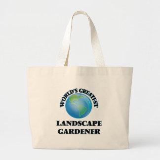 El jardinero del paisaje más grande del mundo bolsas de mano