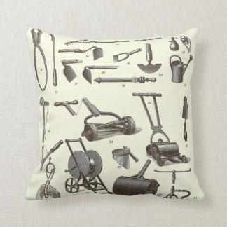 El jardinero elegante - utensilios de jardinería a almohadas
