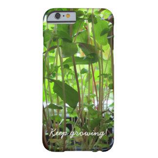 El jardinero guarda el crecer funda barely there iPhone 6