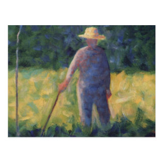 El jardinero - Jorte Seurat Postal