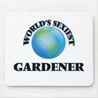 El jardinero más atractivo del mundo tapetes de ratón