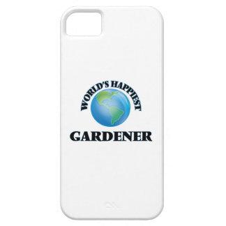 El jardinero más feliz del mundo funda para iPhone 5 barely there