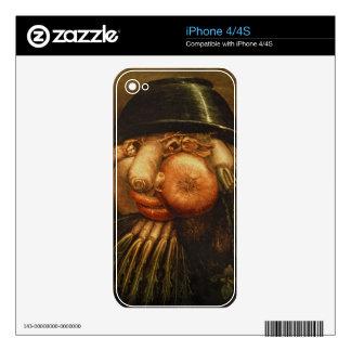 El jardinero vegetal, c.1590 (aceite en el panel) iPhone 4S calcomanías