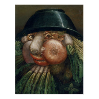 El jardinero vegetal - Giuseppe Arcimboldo Postales