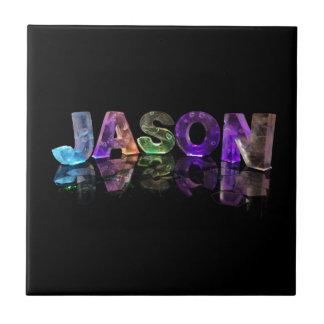 El Jason conocido en las luces 3D fotografía Tejas Ceramicas