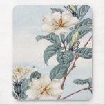 El jazmín florece (el arte japonés del vintage) alfombrilla de ratones