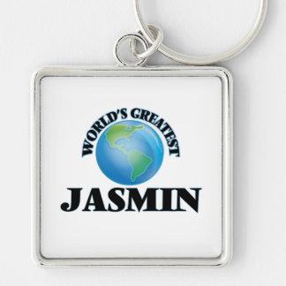 El jazmín más grande del mundo llaveros personalizados