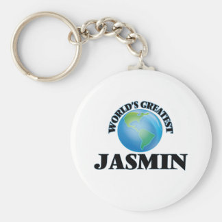 El jazmín más grande del mundo llavero personalizado