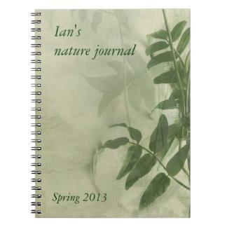 el jazmín sale del cuaderno del diario de la natur