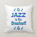El jazz es el más grande almohadas
