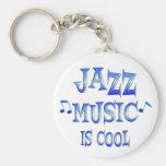 El jazz es fresco llavero personalizado