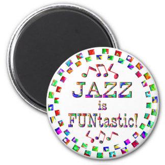 El jazz es Funtastic Imán Para Frigorífico