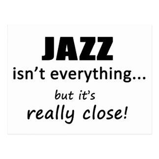 El jazz no es todo postal