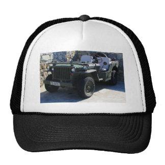 El jeep de Willy clásico Gorros Bordados