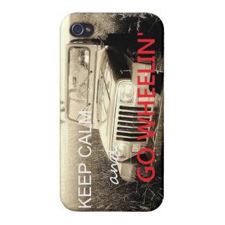 El jeep va caso del iPhone 4 de Muddin iPhone 4/4S Carcasa
