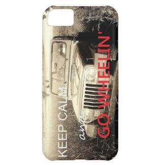 El jeep va caso del iPhone 5 de Wheelin Carcasa Para iPhone 5C