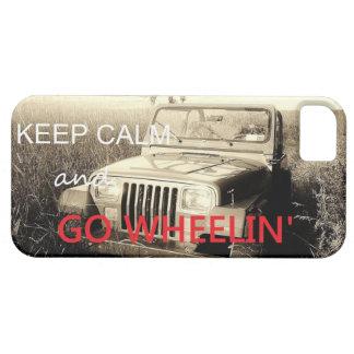 El jeep va caso del iPhone 5 de Wheelin Funda Para iPhone SE/5/5s