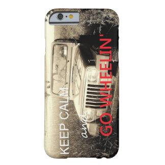 El jeep va caso del iPhone 6 de Wheelin Funda Barely There iPhone 6