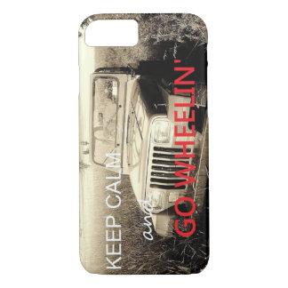 El jeep va caso del iPhone 7 de Wheelin Funda iPhone 7