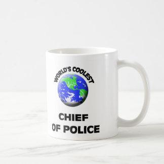 El jefe de policía más fresco del mundo tazas