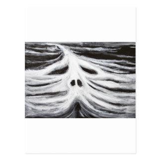 El jefe del leviatán surrealismo blanco y negro