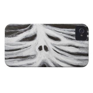 El jefe del leviatán surrealismo blanco y negro Case-Mate iPhone 4 cárcasas